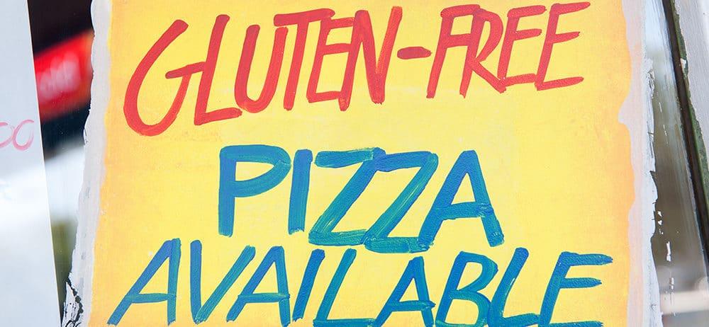 Palio's Pizza Café's Gluten Free Pizza